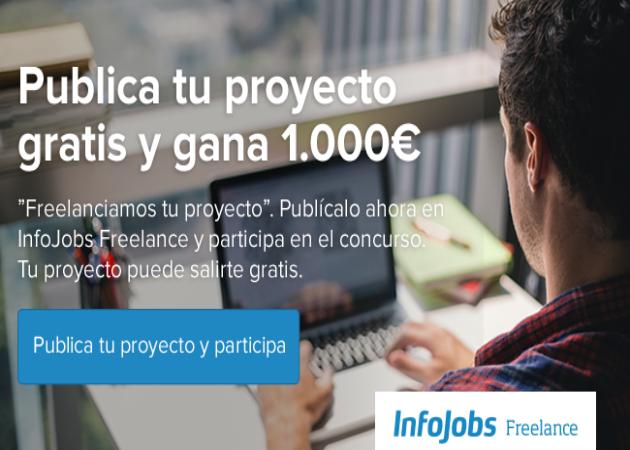 InfoJobs promueve la contratación freelance financiando diez proyectos