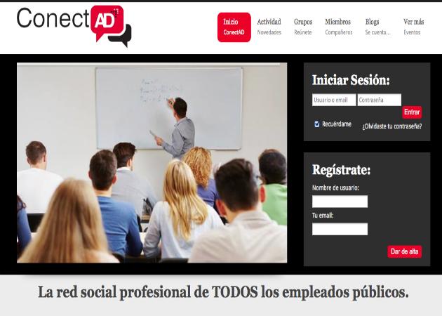 ConectAD, la red social del empleado público