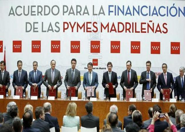 La Comunidad de Madrid solicita 200 millones más al BEI para las pymes