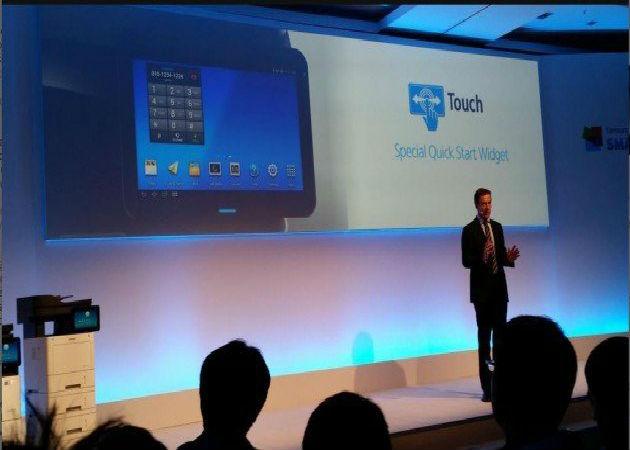 Samsung presenta las primeras impresoras con Android