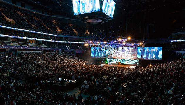 ACN monta grandes espectáculos que vende como formación