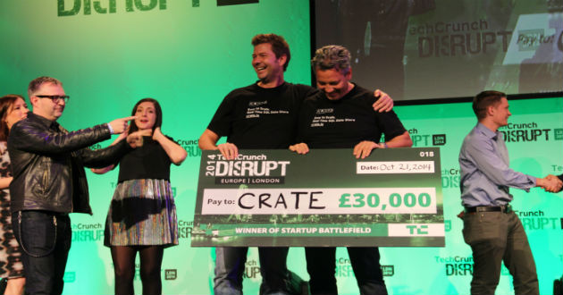 Crate, ganadora del TechCrunch Disrupt Europe 2014