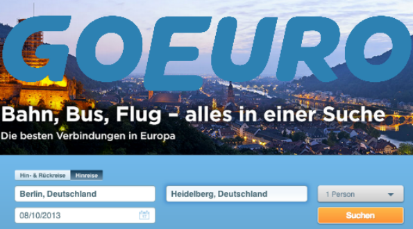 GoEuro lanza la convocatoria A Closer Europe