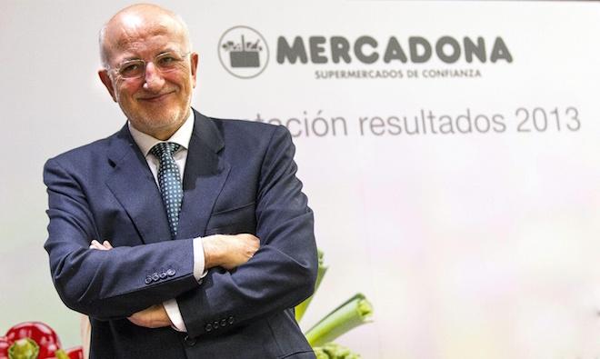 """PRESENTACI""""N DE RESULTADOS 2013 DE MERCADONA"""