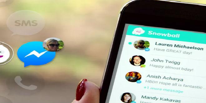 Unifica tus apps de mensajería con Snowball