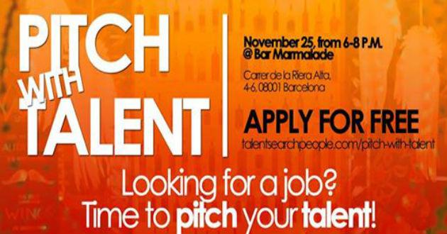 Un centenar de personas se dan cita en Pitch With Talent