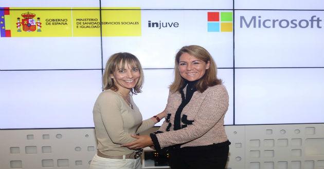 INJUVE y Microsoft firman un acuerdo
