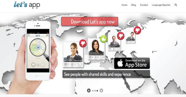 Encuentra trabajo con Let's App