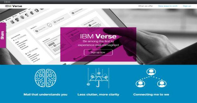 Verse, el nuevo servicio de email de IBM