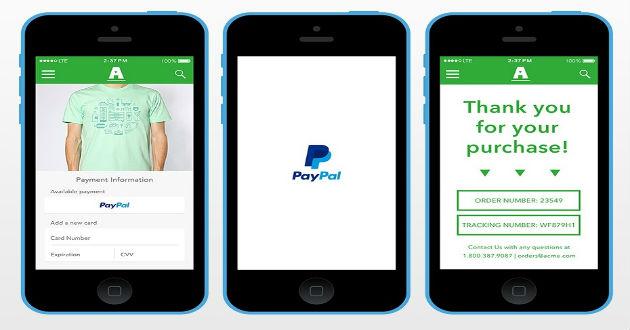 One Touch de PayPal llega a España