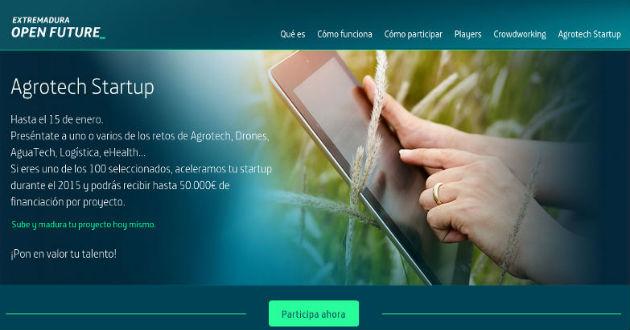 Extremadura y Telefónica Open Future buscan 100 startups para invertir