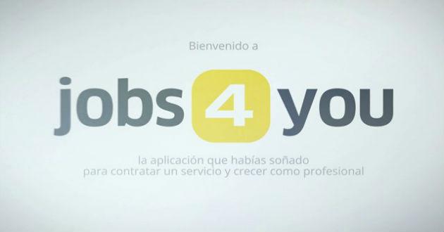 Jobs4you, nueva aplicación para freelances
