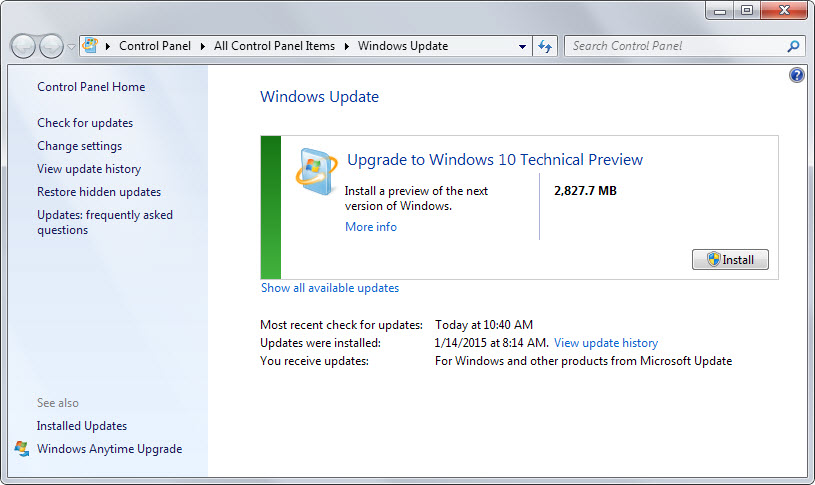 How can I repair Windows Update on Windows 7?