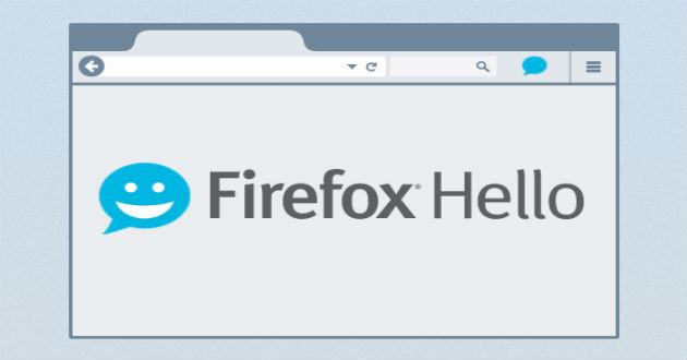 Realiza videollamadas gratuitas desde Firefox con Hello