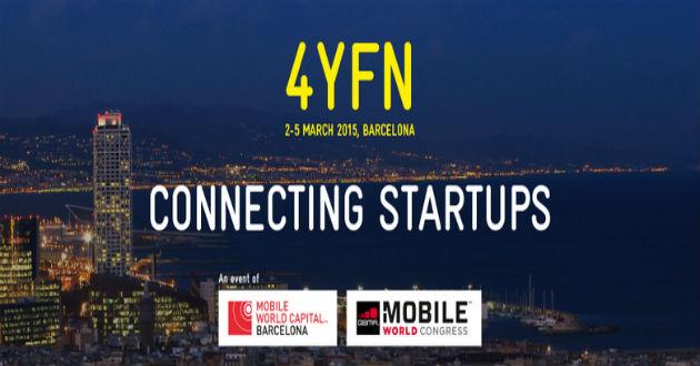 4YFN 2015 conectará a emprendedores con inversores
