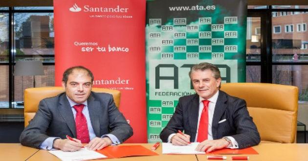Banco Santander abre una línea de financiación para autónomos