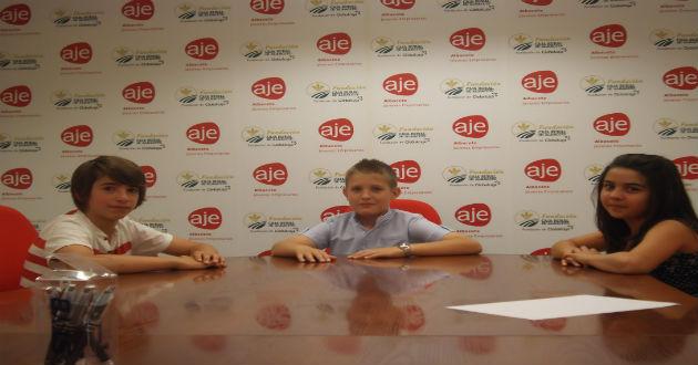 Los niños juegan a emprender en la II edición de AJE kids