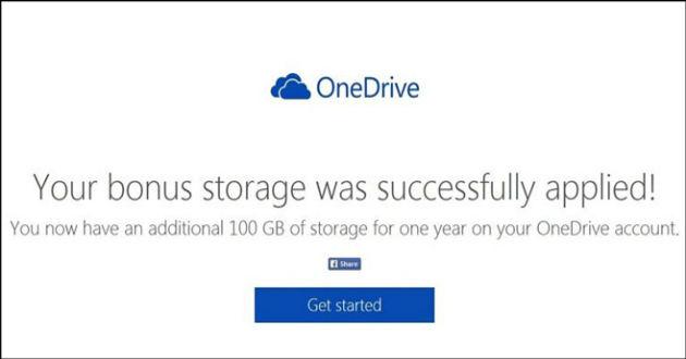 Microsoft da 100 GB gratis en OneDrive a los usuarios de Dropbox