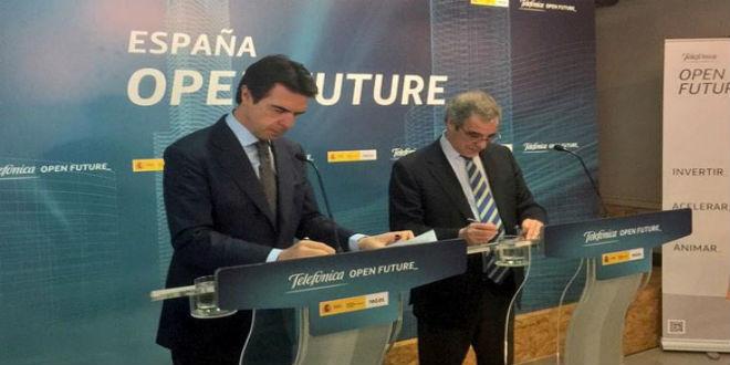 El Ministerio de Industria y Telefónica ponen en marcha España Open Future
