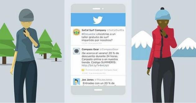 Twitter presenta su nueva función Quick Promote