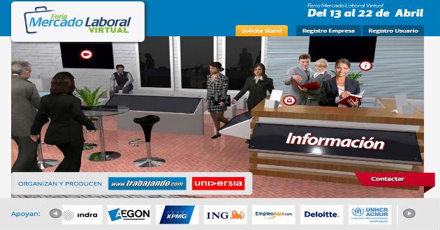Todo listo para una nueva edición de la Feria Mercado Laboral Virtual