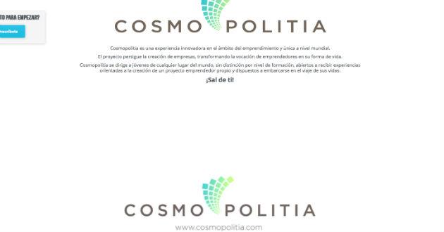 Cosmopolitia, un proyecto para crear emprendedores a través de la experiencia