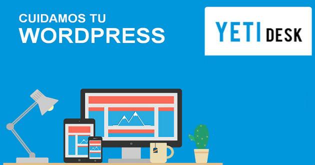 Yetidesk, el primer servicio técnico especializado en WordPress