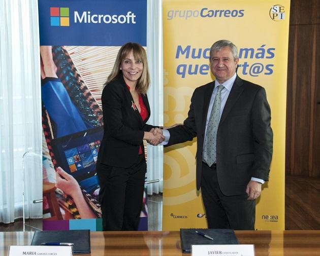Acuerdo Microsoft Correos 2