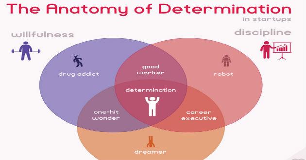 La Anatomía de la Determinación en las startups