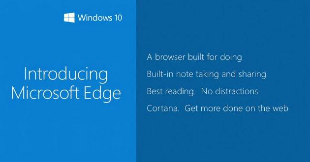 Microsoft Edge, el nuevo navegador de Microsoft