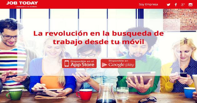 Job Today, una app que pretende revolucionar las búsquedas de empleo