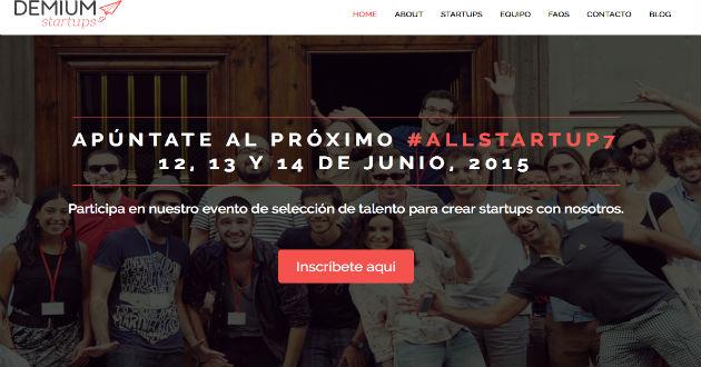 Demium Startups prepara la séptima edición de Allstartup