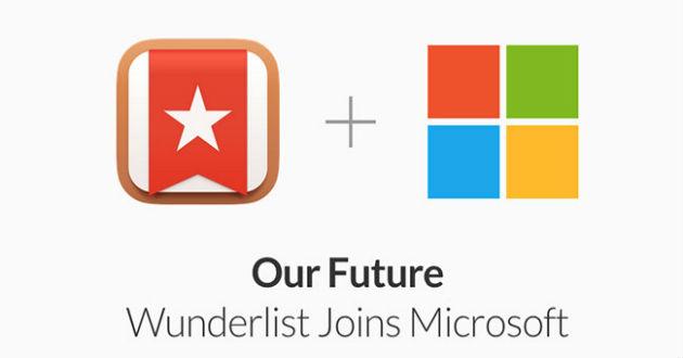 Microsoft compra Wunderlist