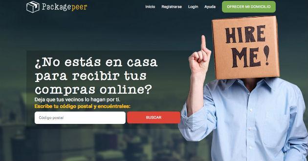 Packagepeer, nuevo sistema para recoger las compras online
