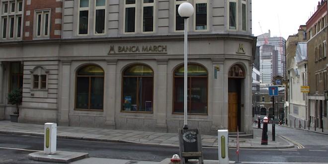 Banca march destaca con luz propia en europa muypymes for Oficinas banca march palma