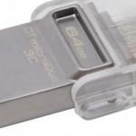 Kingston presenta uno de los primeros pendrives con conector USB-C