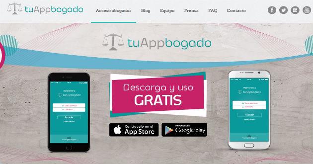 tuAppbogado, aplicación para hacer consultas a abogados