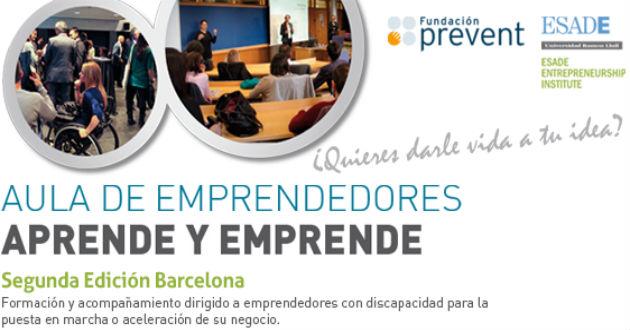 "La Obra Social ""la Caixa"" se incorpora al programa Aula de Emprendedores"