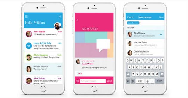 Microsoft presenta Send, nueva app para agilizar el correo electrónico