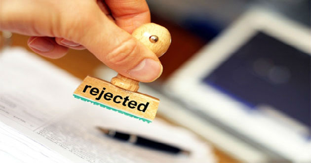 Cómo afrontar el ser rechazado a un puesto de trabajo
