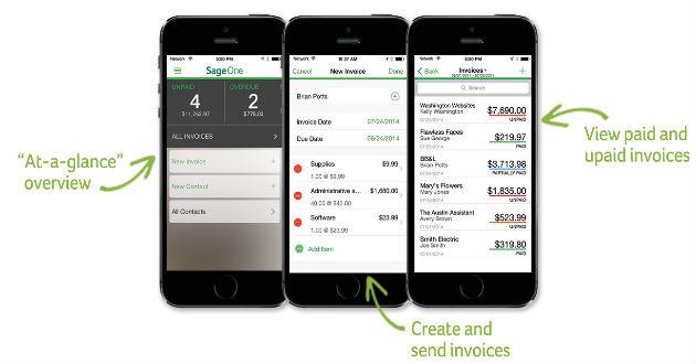 Sage lanza una aplicación para facturar desde el smartphone