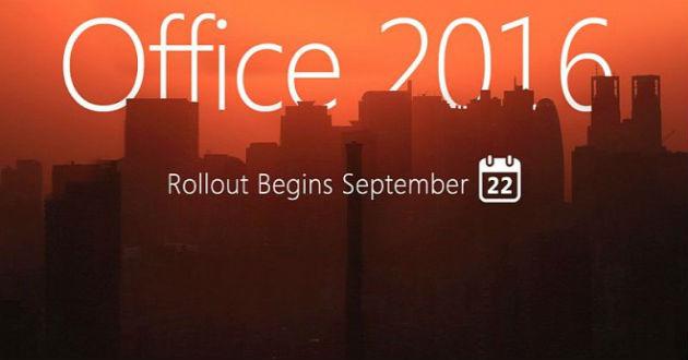 Microsoft lanza Office 2016. Te contamos los detalles
