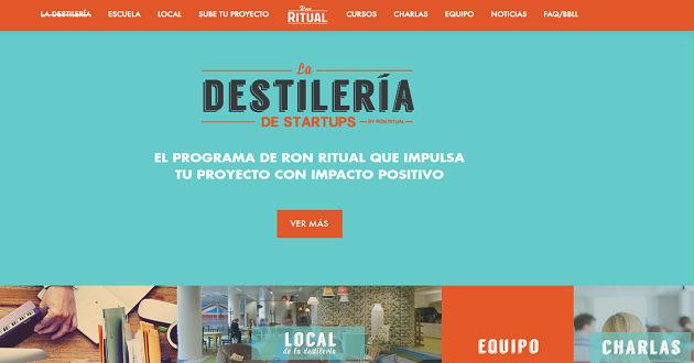 Ron Ritual presenta La Destilería de Startups