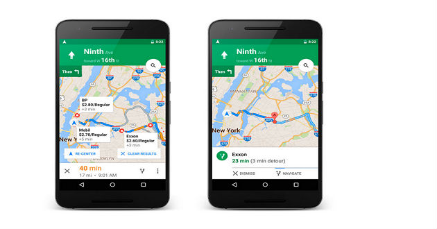 Google Maps nos ayudará a elegir la gasolinera más económica