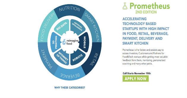 En busca de  15 startups que cocinen para el futuro