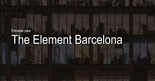 The Element llegará a Barcelona el próximo 19 de noviembre