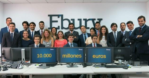 Ebury cierra una ronda de financiación de 77 millones de euros