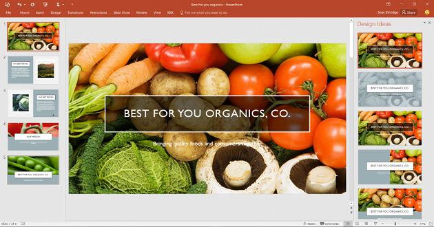 PowerPoint añade dos nuevas funciones: Designer y Morph