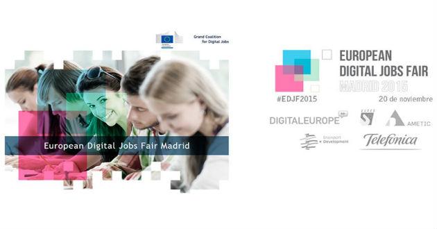 Llega la Feria Europea del Empleo Digital