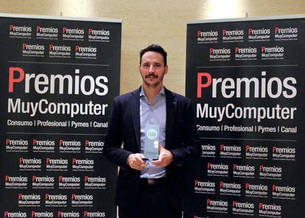 Recoge el premio Nacho Nieto, Director General de Tecnologías y Plataformas de Samsung España